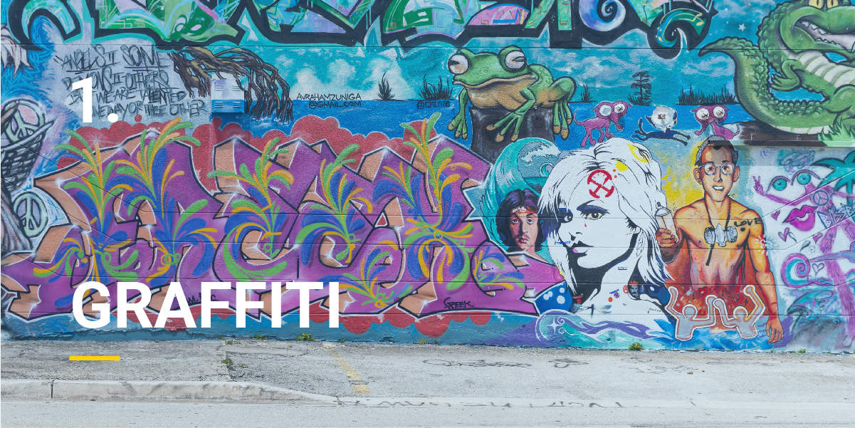 how to clean spray paint graffiti