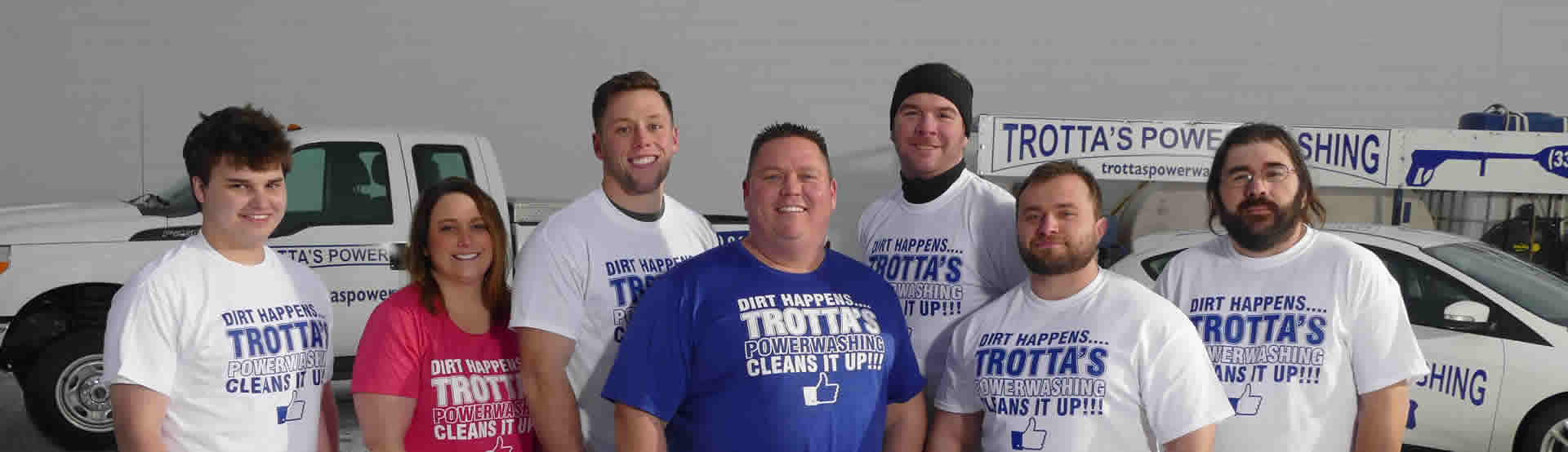 Trotta's Power Washing Team
